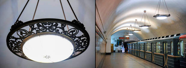 Самые красивые люстры московского метро (ФОТО)