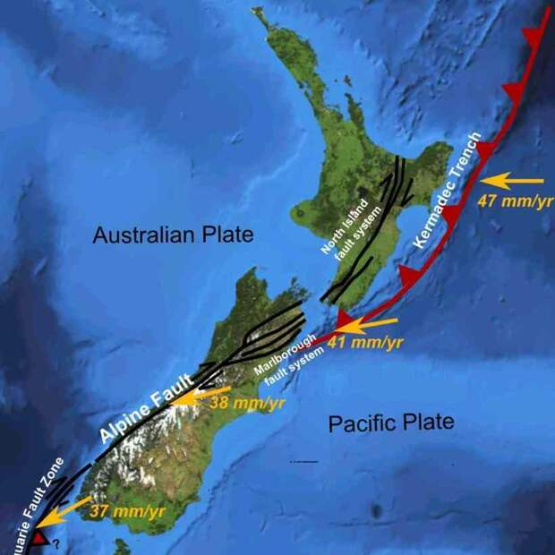 Остров-вулкан Уайт-Айленд — опасная достопримечательность Новой Зеландии