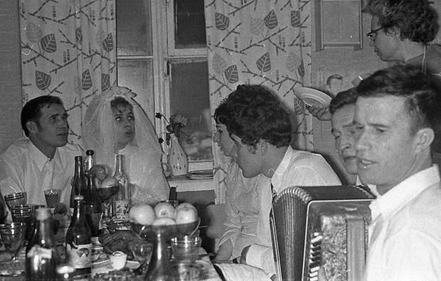 Советские свадьбы: лица наших предков просто светятся благостью