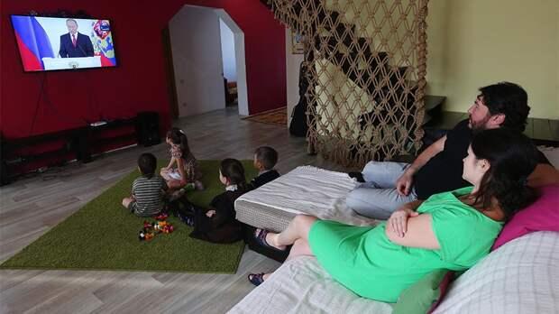 Путин предложил освободить некоторые семьи с детьми от подоходного налога при продаже квартиры