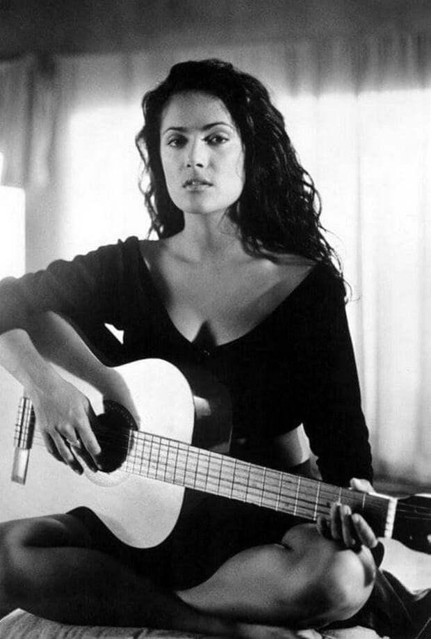 Сальма Хайек, 1995 год.