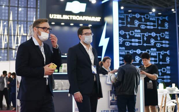 Рязанские строительные предприятия представили свою продукцию на выставке UzStroyExpo в Ташкенте