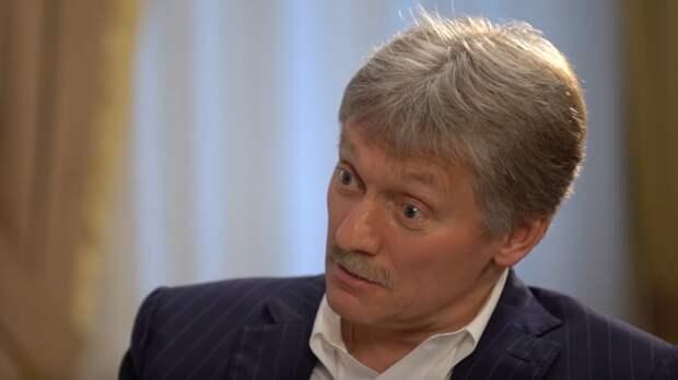 Песков: Россия не собирается присоединять республики Донбасса