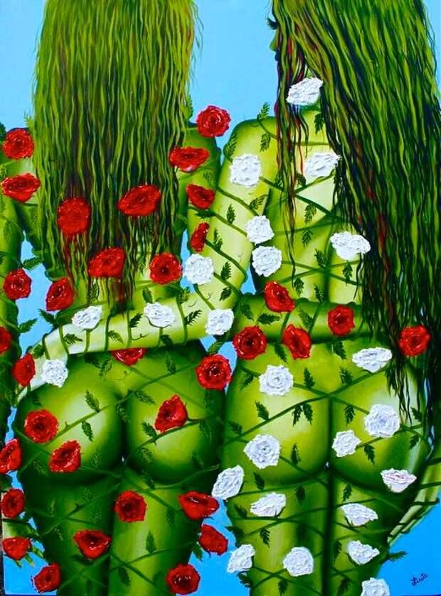 Cовременная мексиканская художница Лисет Алькальд/ Lisete Alcalde