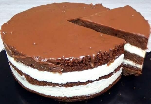 Простой и бюджетный торт Милка