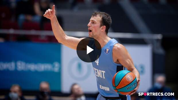Kevin Pangos breaks Zenit's play-offs franchise assists record (13) | May 13, 2021