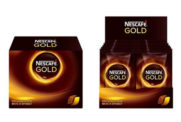 Nescafe Gold провел глобальный редизайн