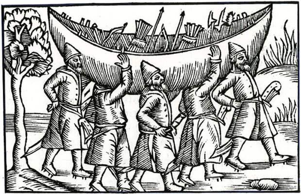 Ушкуйники принимали активное участие в войнах в качестве наемников.