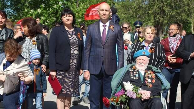 В Советском прошли праздничные мероприятия, приуроченные 76-й годовщине Победы в Великой Отечественной войне