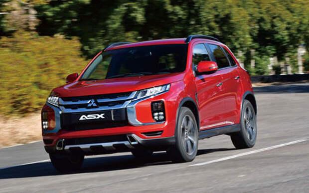 Обновленный Mitsubishi ASX получил разрешение на продажу