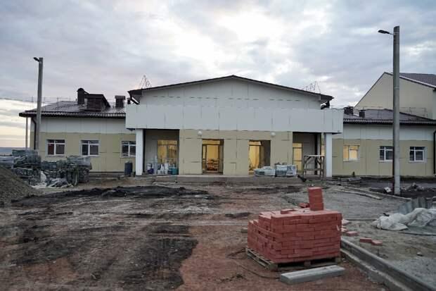 Дом культуры достроят в селе Молька Усть-Удинского района к ноябрю
