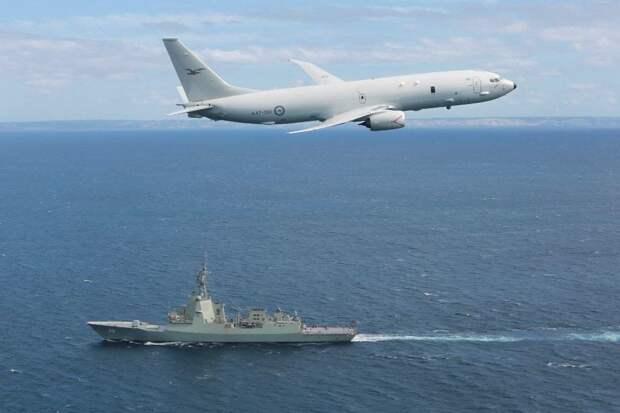 Самолёт-разведчик ВВС США нарушил российское воздушное пространство над Крымом