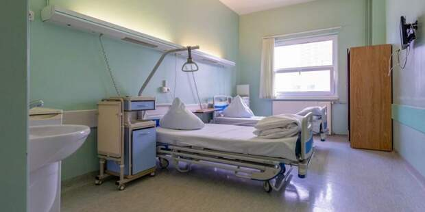 Собянин открыл коронавирусный стационар на базе клиники «РЖД-Медицина» Фото: mos.ru