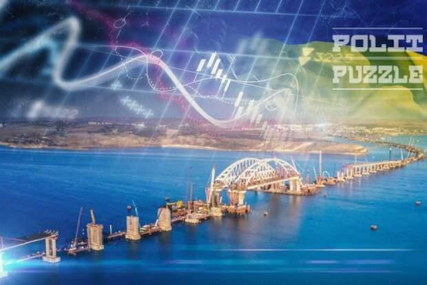 Крымский мост может стать спасением от водной блокады полуострова