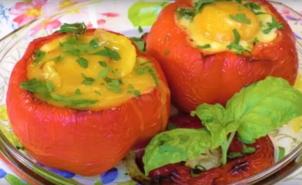 Крок-мадам в перцах: отличное блюдо к завтраку