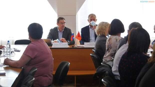 В городе Назарово продолжается разработка плана по улучшению экологии