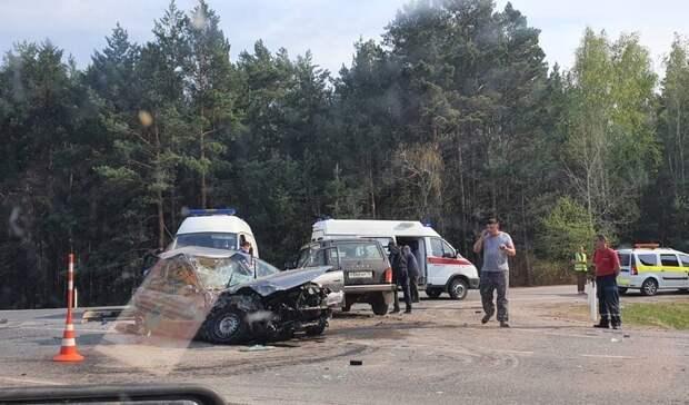 ВДТП натюменской трассе пострадали четыре человека