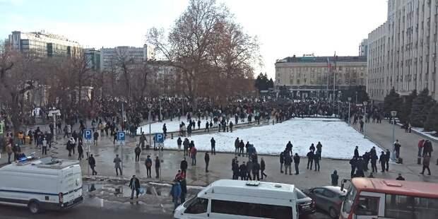 Полиция попросила жителей Кубани не выходить на несанкционированные акции