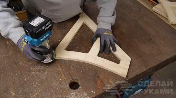 Раскладной стул-трансформер из фанеры своими руками