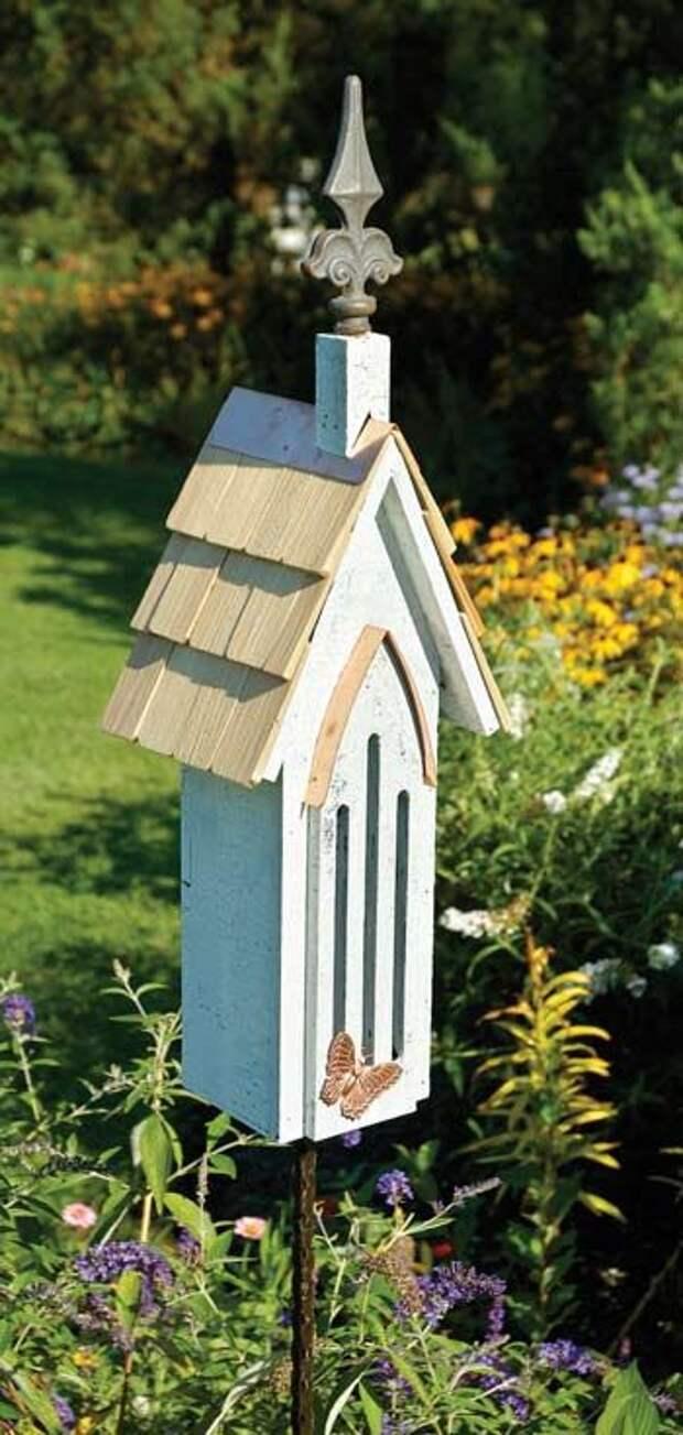 Домик для бабочек в вашем саду