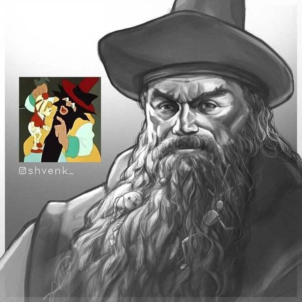 Как выглядели бы 11 героев советских мультиков в реальной жизни