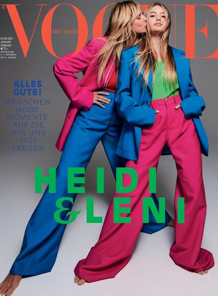 Вся в мать: 16-летняя дочь Хайди Клум дебютировала на обложке Vogue