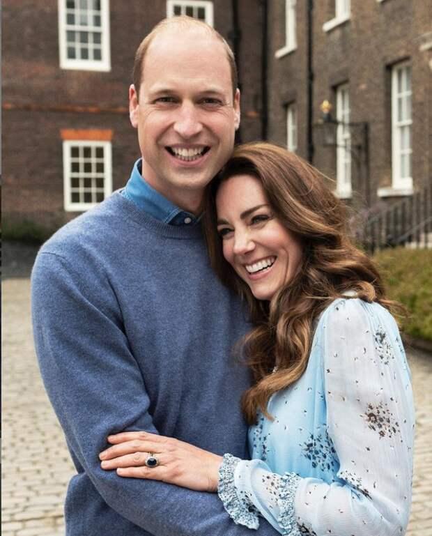 «Поцелуемся?»: о чем шептались Кейт Миддлтон и принц Уильям на своей свадьбе