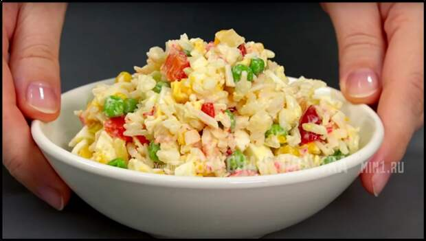 Готовлю вкусный КРАБОВЫЙ салат за 5 минут по-новому РЕЦЕПТ ОГОНЬ!