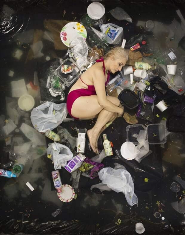 Вот сколько мусора остается после человека за 7 дней