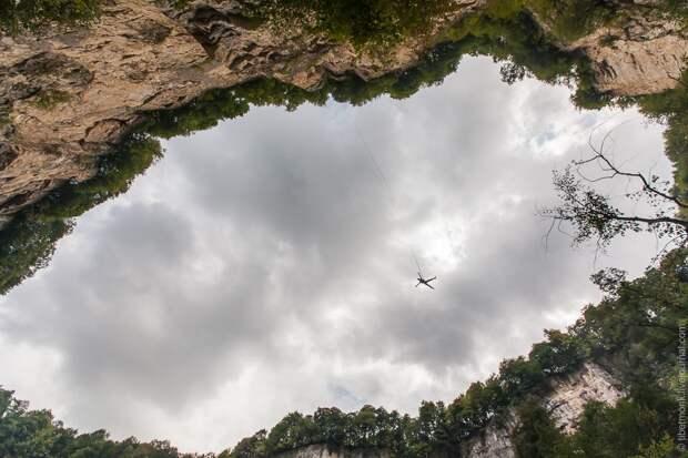 ropejumping42 Прыжок в Сухое озеро
