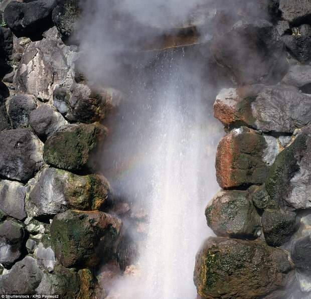 Геотермальный курорт Беппу