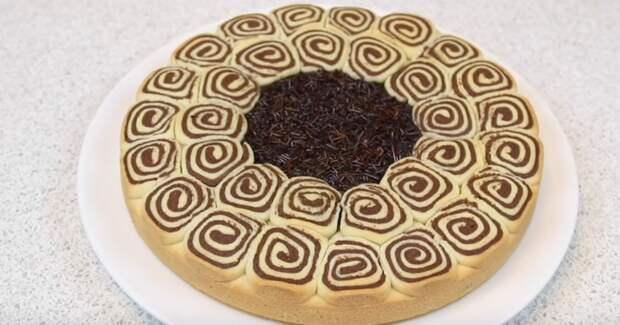 Такой пирог лучше торта! Очень просто, вкусно и красиво
