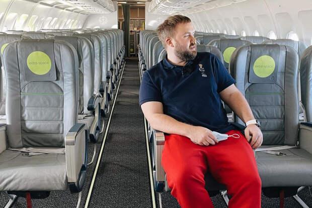 Блогер выкупил все билеты на самолёт для полёта из Москвы в Сочи