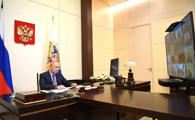 Не время расслабляться: Путин о борьбе с коронавирусом