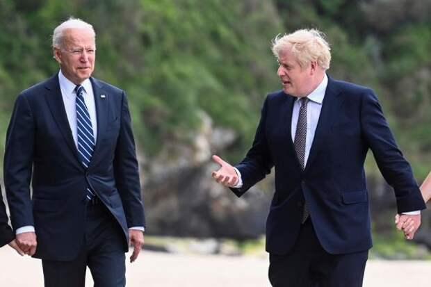 Джонсон и Байден согласовали подход к России и Китаю