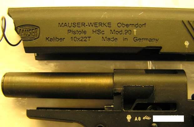 Травматический пистолет «Mauser HSc 90t» – оружие немецкого качества