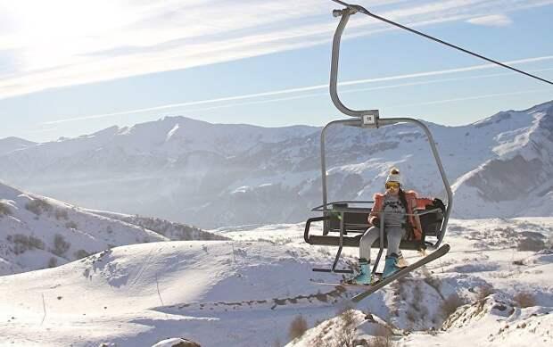 Грузия соединяет 2 горнолыжных курорта канатной дорогой
