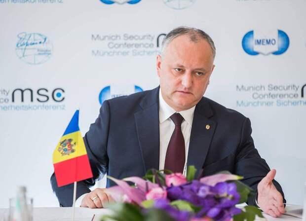 Додон ошарашил Европу заявлением о России