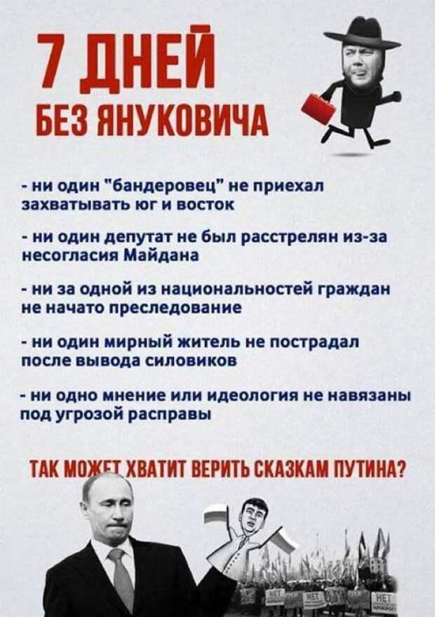 Провал украинской пропаганды