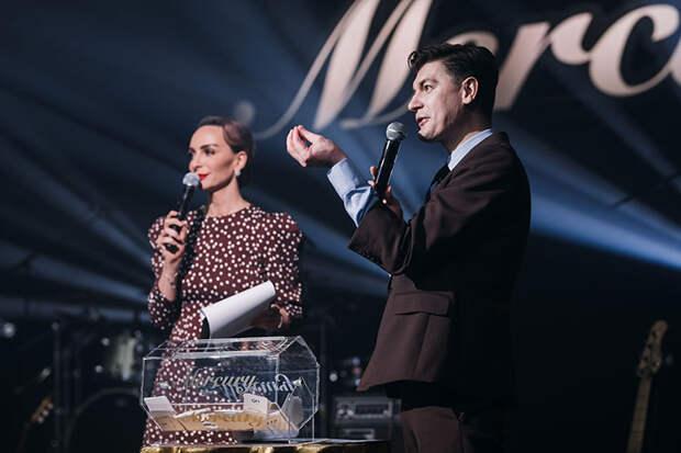 Екатерина Варнава, Александр Гудков, Настасия Шубская и другие на ужине ювелирного бренда