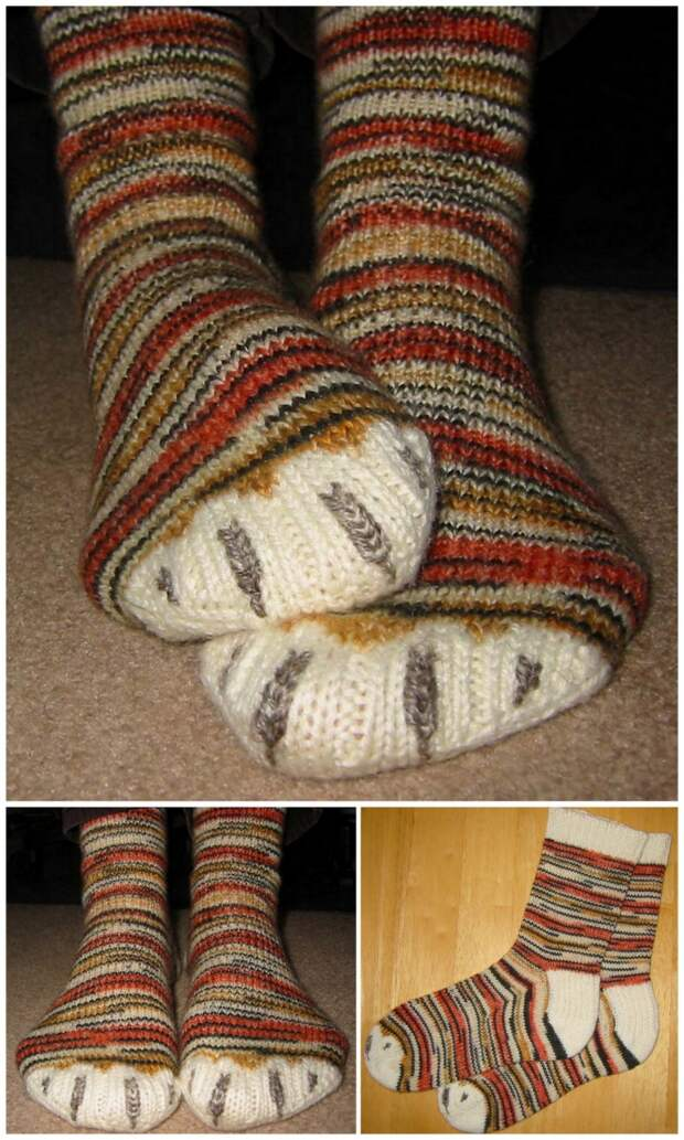 Когтистые  носки