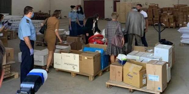 Больницы Харькова получили от США гуманитарный груз с медицинским оборудованием для борьбы с коронавирусом