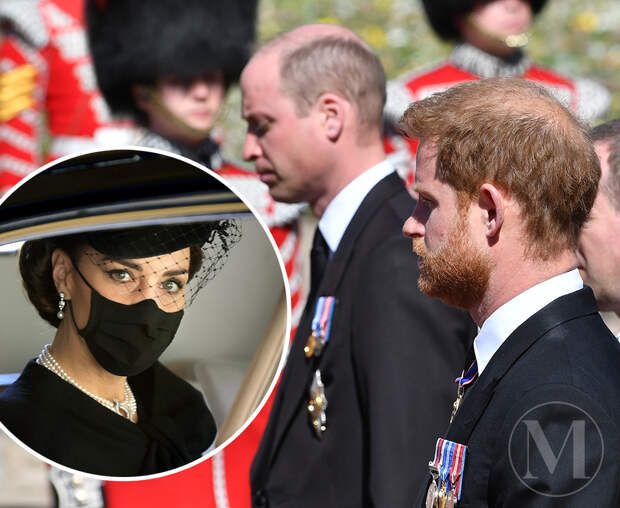 Почему принц Гарри ушёл с похорон дедушки вместе с принцем Уильямом и Кейт Миддлтон?