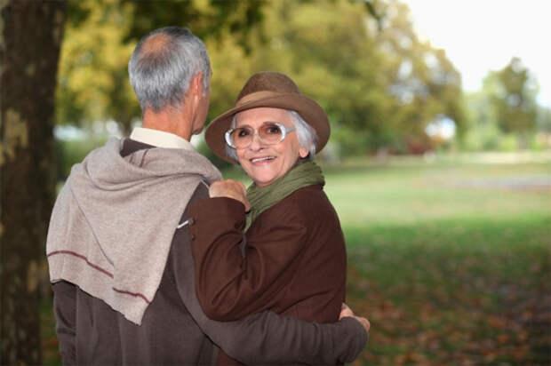 Женщина и мужчина, которые поняли друг друга ;)