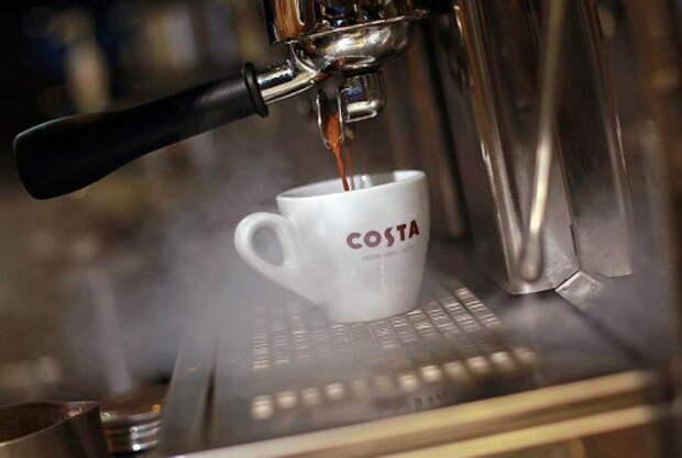 Costa Coffee разольется по всей России