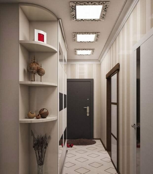 Отдавайте предпочтение встроенным лампам, а не люстрам. / Фото: mystroyinfo.ru