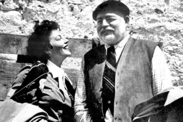 Ава Гарднер и Эрнест Хемингуэй
