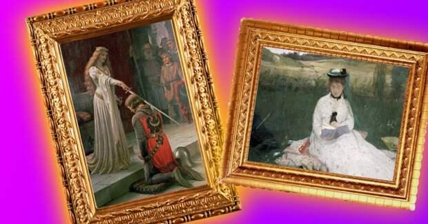   Тест: Угадай, какие из этих 7 известных картин написали женщины