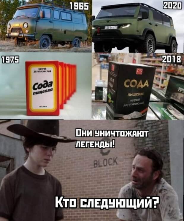 Легендарные вещи тогда и сейчас