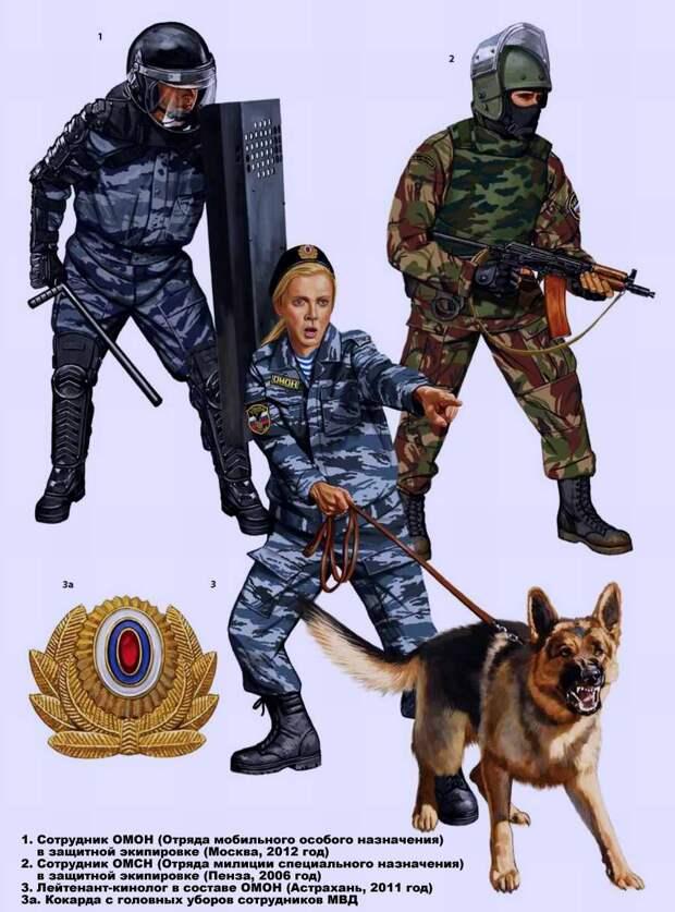 Отряды мобильные специального назначения ( ОМОН ) и Отряды милиции специального назначения ( ОМСН )